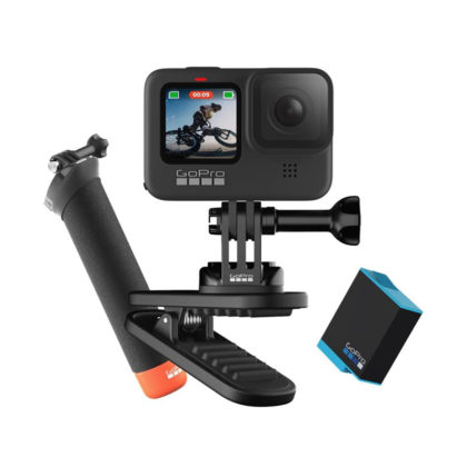 GoPro HERO9 Action Camera Black Bundle