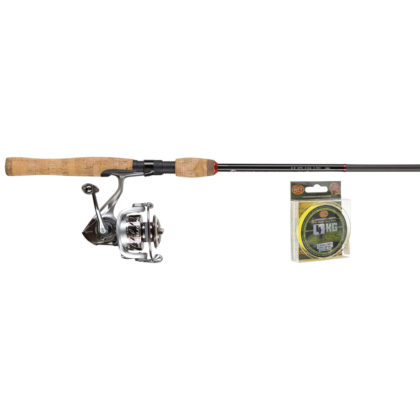 Quantum Throttle 6′6″ Spin Rod with TH30 Spinning Reel Combo