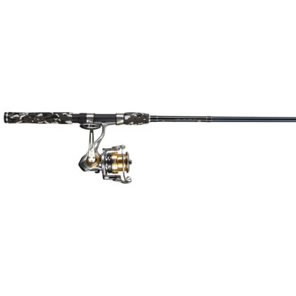 Quantum Smoke Rod with Exostrike Spinning Reel Combo