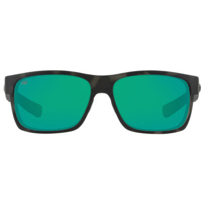 Costa Del Mar Ocearch Half Moon Polarized Sunglasses Green Mirror