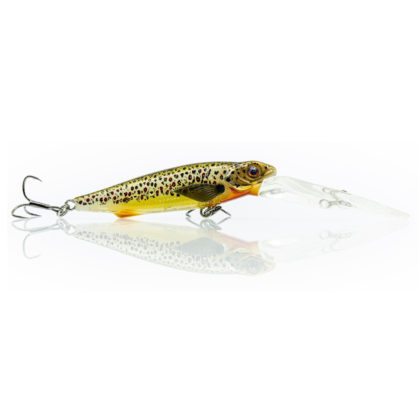 Chasebaits Gutsy Minnow Deep Hard Body Lure Brown Trout
