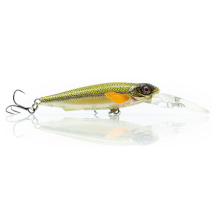 Chasebaits Gutsy Minnow Shallow Hard Body Lure Lime and Soda