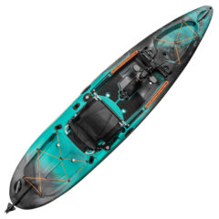 Old Town Sportsman Salty PDL 120 Pedal Fishing Kayak Photic Camo
