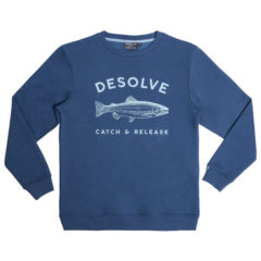 Desolve Bow Sweater Navy