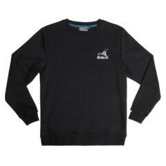 Desolve Waves Sweater Black