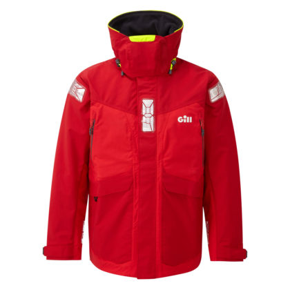 Gill Men's OS2 Offshore Jacket Red