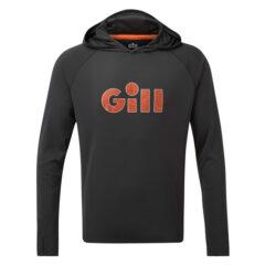 Gill Men's UV Tec Hoody Charcoal Gill