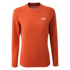 Women's Millbrook Long Sleeve Crew Orange