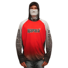Rapala Hooded Jersey Red